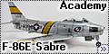 """F-86E-10-NA 51-2800 """"Liza Gal/EL DIABLO"""""""