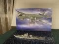 В.Э. 1/144 Ил-38+1/700 Эсминец Современный Звезда